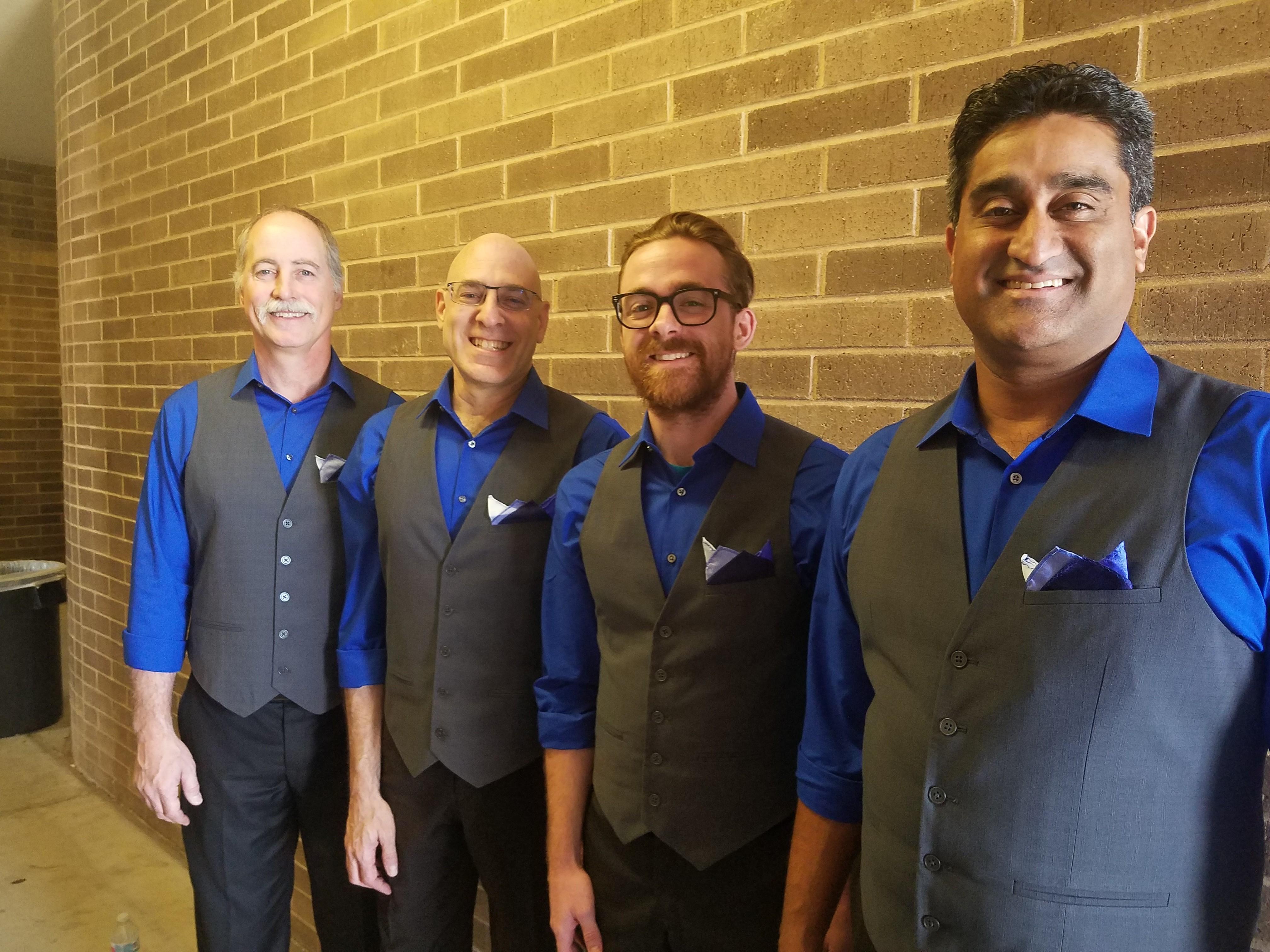 Montage wins Novice Quartet award   East Valley Harmonizers